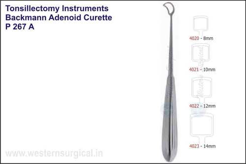 Backmann Adenoid Curette