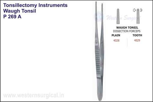 Waugh Tonsil Dissection Forceps