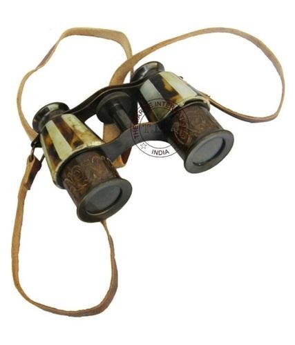 Mop Antique Brass Binocular