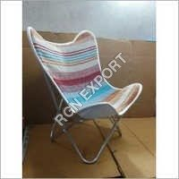 Butterfly Chair with woolen sitting