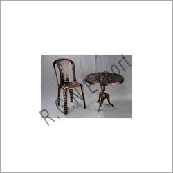 Aluminium Garden Table and Chair