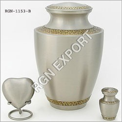 Americal Style Brass Cremation Urn