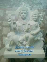 Marble Narsingh Statue