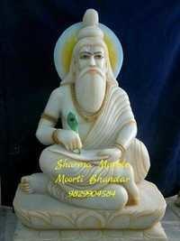 Marble Rishi Statue