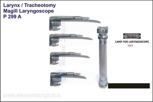 Magill Laryngoscope With Blades