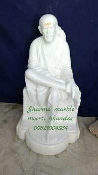 Marble Sai Nath Statue