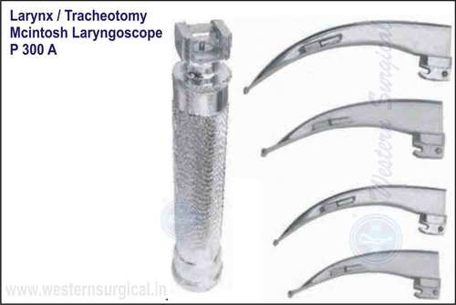 Mc Intosh Laryngoscope With Blades