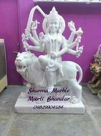 Marble Ma Durga Moorti