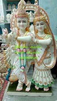 Marble Radha Gopal Statue