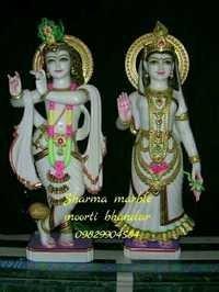 Marble Radhe Govind Statue
