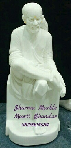 Marble Sai Statue