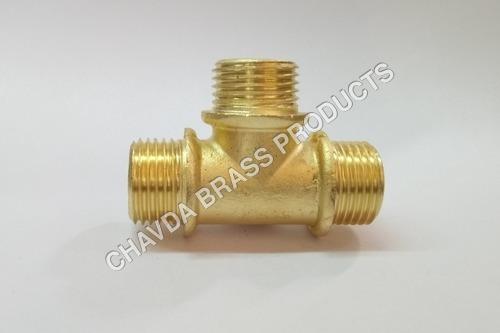 Brass Male Thread Tee