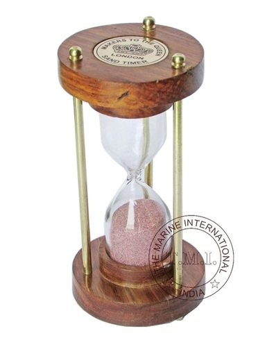 Nautical Wooden Sand Timer