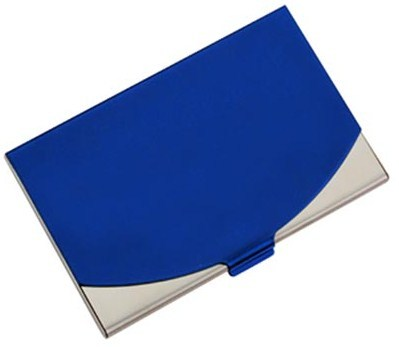 Ss Card Holder, 2Tone - Blue