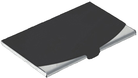 Ss Card Holder, 2Tone