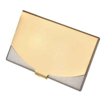 Card Holder Gold