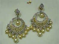 Diamond Earings Set