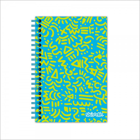 A5 Spiral Notebook 80 Printed Sheets Aztec Print