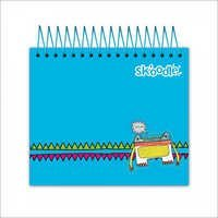 Blue Jotter Notebook 300 Sheets