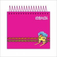 Pink Jotter Notebook 300 Sheets