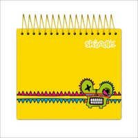 Yellow Jotter Notebook 300 Sheets