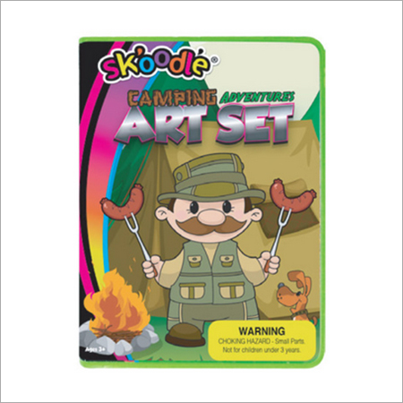 24 Piece Camping Art Sets