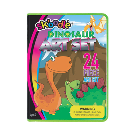 24 Piece Dinosaur Art Sets