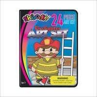 24 Piece Firefighter Art Sets