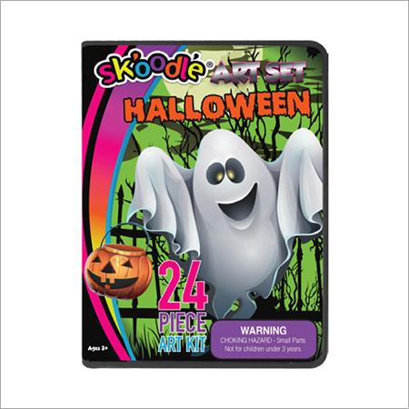 24 Piece Halloween Art Sets