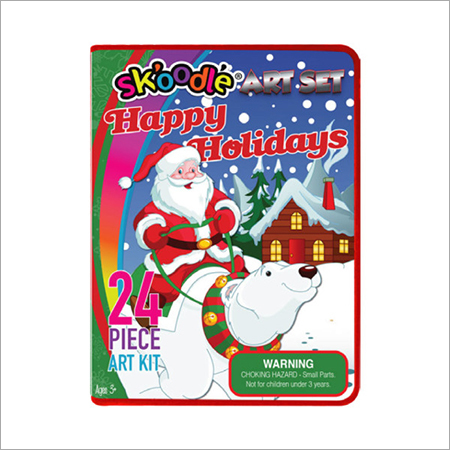 24 Piece Holiday Art Sets