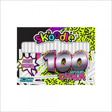 100 pc White Chalk