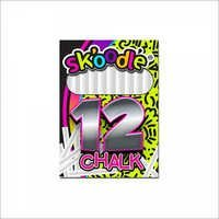 12 pc White School Chalk