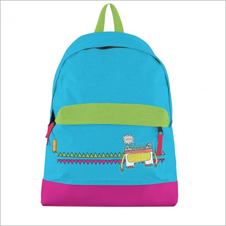 Doodlez Bookbag Blue