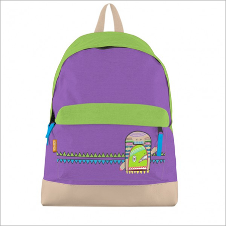 Doodlez Bookbag Purple
