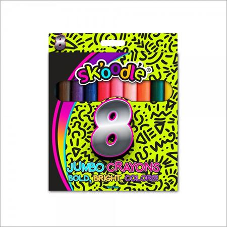 8 Jumbo Crayons Colors