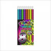 8 Pack Jumbo Twist Crayons