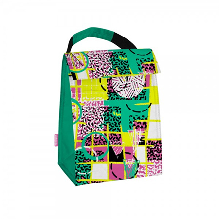 LunchBag Green Yellow Volleyball Surf
