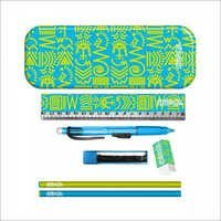 Aztec Pencil Kit Lime & Teal