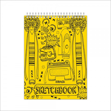 Yellow Sketchbooks