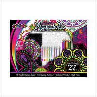 Mandala 27pc Adult Coloring Kit