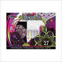 Mandala 27pc Adult Coloring Kit
