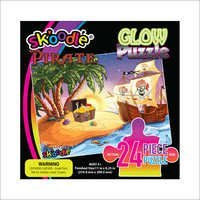 24 Piece Pirate Glow Puzzles