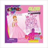 24 Piece Princess Glow Puzzles