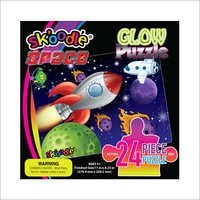 24 Piece Space Glow Puzzles