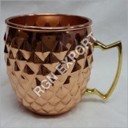 FDA Certification And Copper Metal Type Copper Mug For Vodka