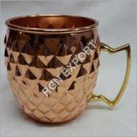 FDA Certification And Copper Metal Type Copper Mug For Vodka