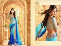 Shaded Colour Designer Saree Online