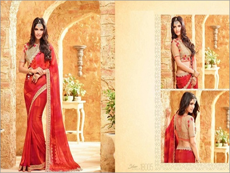 Shop Party Wear Shaded Saree Online