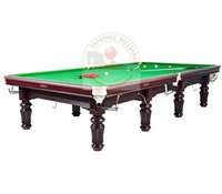 Billiards Table in Steel Block Cushions
