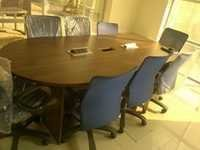 Conference Table Oval Shape